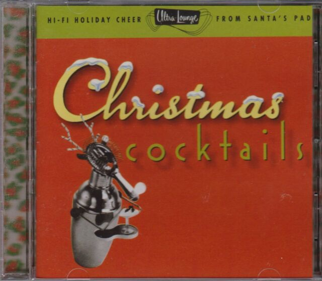 CHRISTMAS COCKTAILS - VARIOUS ARTISTS on CD - NEW --