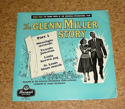 Single The Glenn Miller Story Part 1 Moonlight serenade Brunswick OE9001