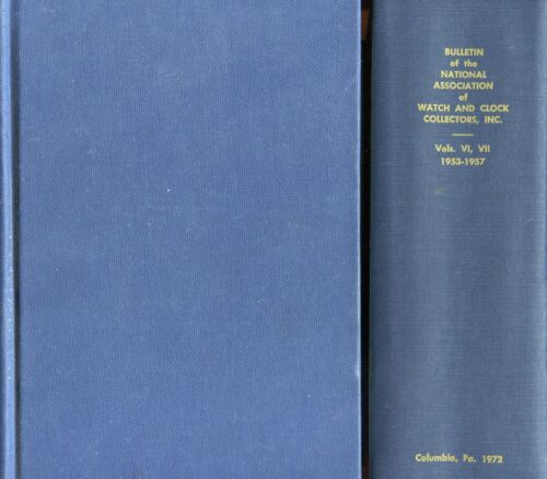 1953-1957 National Assoc. Watch Clock Collectors / 1,252 Page Bible-Thick Book