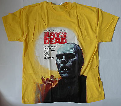 T- Shirt Day of the Dead - Größe XL - George A. Romero - Zombie Horror - NEU!!!