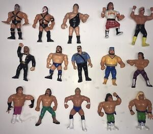 WWF HASBRO FIGURES AKE AN OFFER ON ONE OR ALL