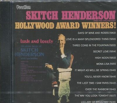 SKITCH HENDERSON - HOLLYWOOD AWARD WINNERS & LUSH AND LOVELY - CD
