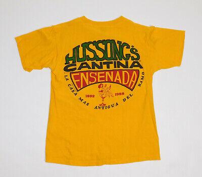 80s Tops, Shirts, T-shirts, Blouse   90s T-shirts Vintage 1980s 1988 HUSSONG'S CANTINA ENSENADA MEXICO Original Classic T Shirt M $48.88 AT vintagedancer.com