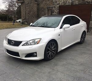 2008 LEXUS IS-F FOR SALE ONLY WITH 89000KM!!