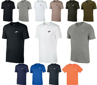 NIKE MENS SPORTSWEAR EMBROIDERED T-SHIRT *827021* ASST. SIZES & COLORS *NWT*