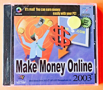 Make Money Online   Sealed Cd Rom      Free Shipping