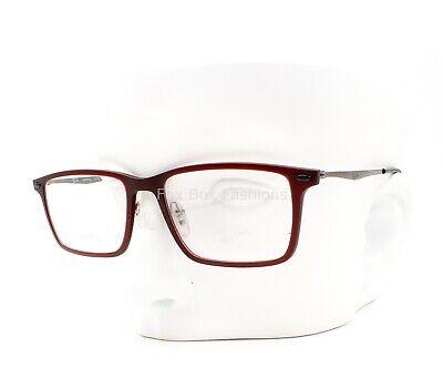 Ray-Ban Lightray RB 7050 5456 Eyeglasses Frame Glasses Matte Burgundy (Ray Ban Plastic Frame Glasses)