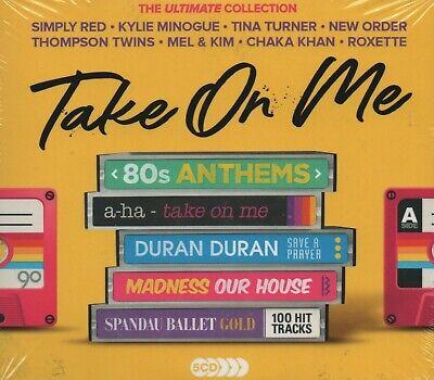 TAKE ON ME - 80S A-HA DURAN DURAN ROXETTE BUCKS FIZZ MADNESS - 5 CDS - NEW!!