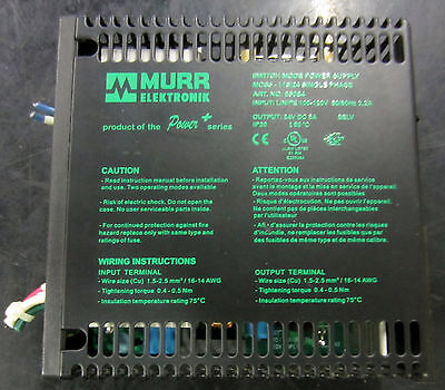 Murr Elektronik Switch Mode Power Supply Mcs5-11524 Single Phase Used To