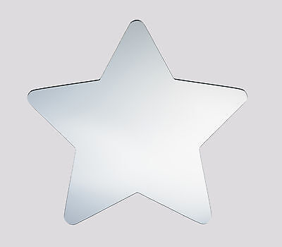 Star Shaped Acrylic Novelty Mirror from Display Essentials