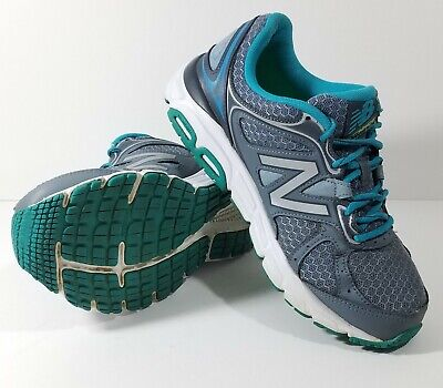 New Balance W560V6 Running Shoe Womens size 7.5 D Grey Silver & Sea (Womens Running Glasses)