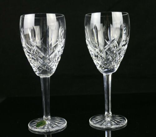 "Set of 2 Waterford Araglin 7-1/8"" H Claret  Wine Glasses (Multiple Available)"
