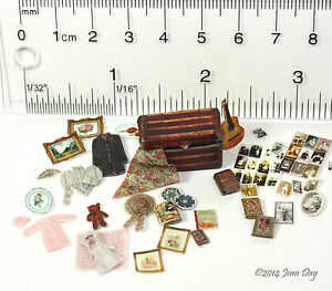 Quarter-scale-kit-Memory-Trunk-Accessories-KIT-1-4-1-48-by-Jean-Day