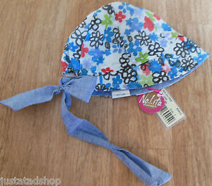 Nolita-Pocket-baby-girl-summer-hat-bandana-44-cm-0-3-m-New-BNWT-designer