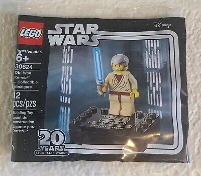 Lego Star Wars 30624 Obi-Wan Kenobi 20th Anniv. Minifigure Sealed