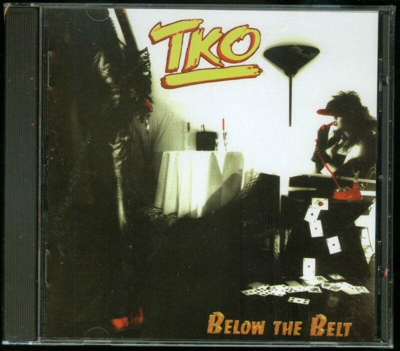 TKO Below The Belt CD new 2001 reissue