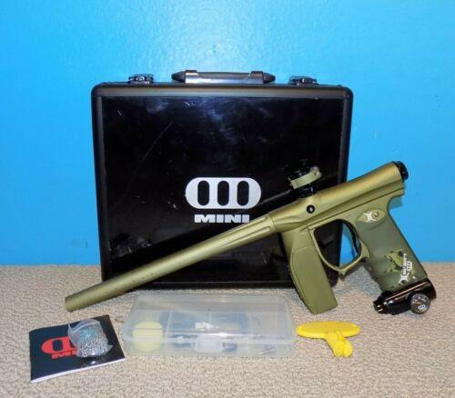 Empire Invert Mini Paintball Marker Gun w/Barrel & Carry Case Excellent!