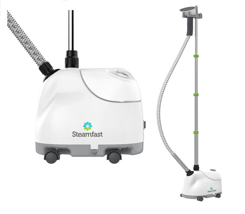 Steamfast 1500W Upright Fabric Garment Steamer Wrinkle Remover