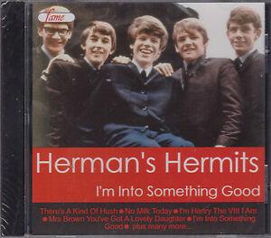 HERMAN'S HERMITS - I'M INTO SOMETHING GOOD - on CD - NEW