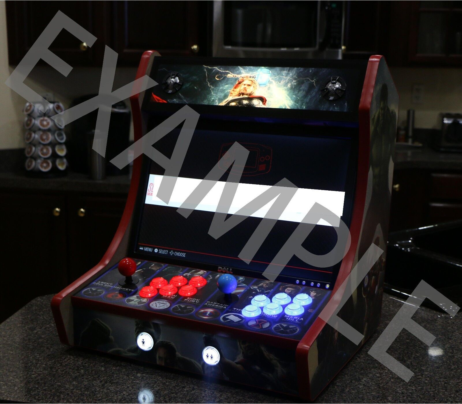 Bartop arcade cabinet mdf do it yourself kit with t molding cuts bartop arcade cabinet mdf do it yourself kit with t molding cuts solutioingenieria Image collections