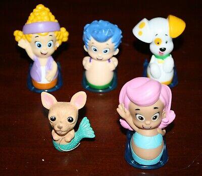 Deema Bubble Guppies (Lot 5 Bubble Guppies Figures Roll N Go Sliders Rollers Nichelodeon Deema)