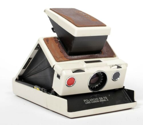 Polaroid SX-70 model 2 Brown/Ivory - TESTED #2