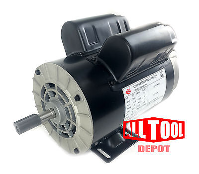 3.7 Hp Spl 3450 Rpm 56 Frame 230v 17.2amp 58 Shaft Single Phase Nema Motor