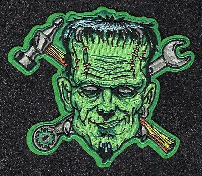 Gear-Head Frankenstein embroidery