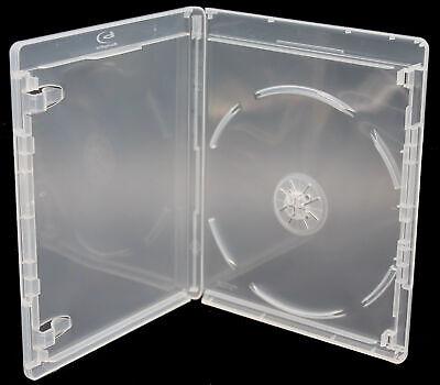 New Viva Elite Clear Bluray 12.5mm 1-Disc Premium Replacement Movie Storage Case