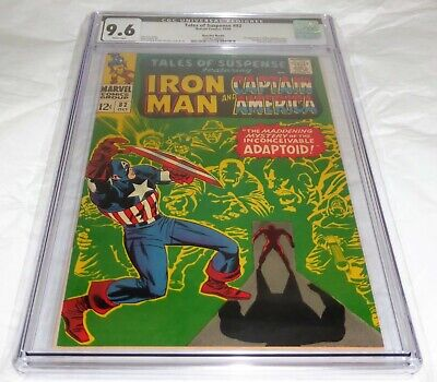Tales of Suspense #82 CGC Universal Pedigree Grade 9.6 Suscha News 1st Adaptoid
