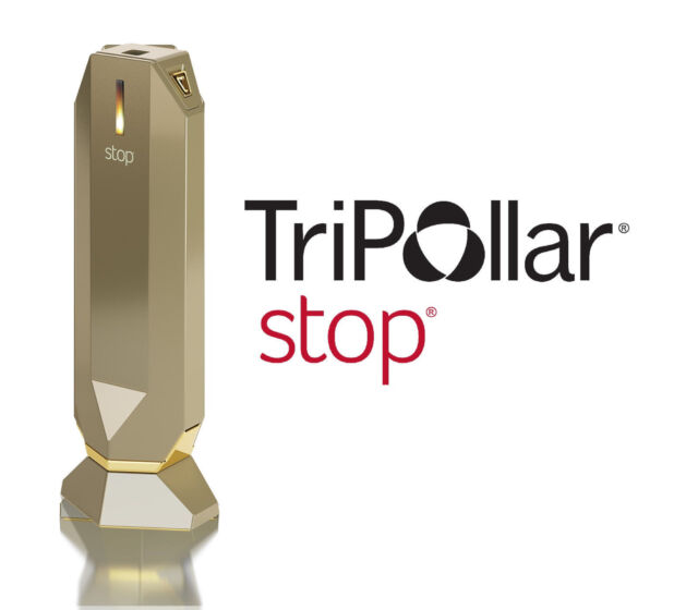 Radio Frequency Tripollar STOP Gold Skin Tightening Device Wrinkle Treatment