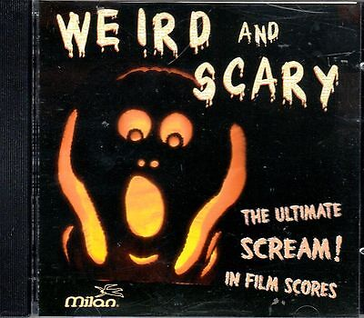 WEIRD AND SCARY: THE ULTIMATE SCREAM IN FILM SCORES RARE HALLOWEEN THEMES & MORE - Scary Halloween Music Screams