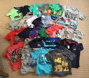 Size 2T boys summer shirts