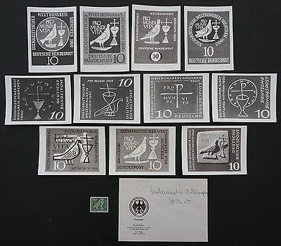 BUND FOTO-ESSAY`s 330 EUCHARISTISCHER WELTKONGREß MÜNCHEN 1960 11 ENTWÜRFE e550