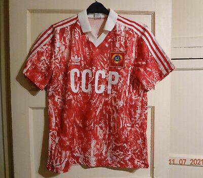 Soviet Union/USSR/CCCP 1989-1991 Home Football Shirt - Adidas image