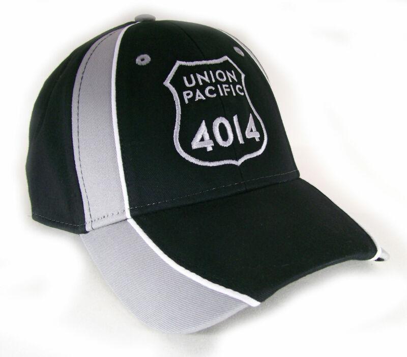 Union Pacific Railroad 4014 Embroidered Cap Hat W/piping 40-4014bgv