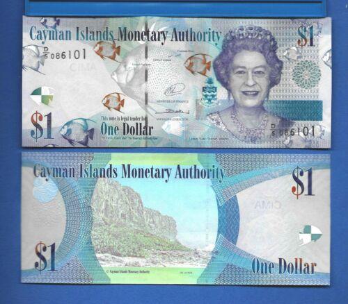 Cayman Islands P-38d 2014 Series D/5 2017 Uncirculated Banknote