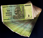 Zimbabwe 10 Trillion Bundle