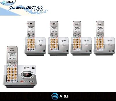 Cordless Office Phones - Home Phone AT&T Set DECT 6.0 Portable Wireless Cordless Telephone Office lot