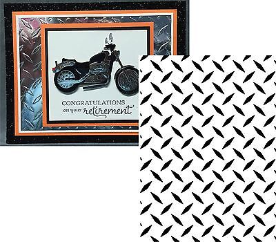 Diamond Plate Embossing Folder Darice Cuttlebug Compatible