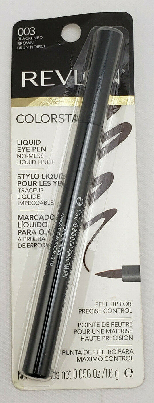Revlon ColorStay Liquid Eye Pen, Blackened Brown 003