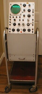 Vintage 1950s Tektronix Rca Type 500 Scope-mobile Oscilloscope Cart Super Rare
