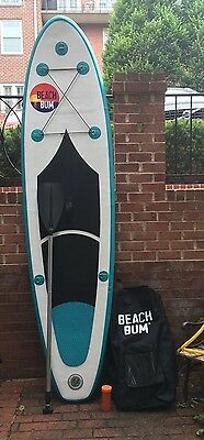 Inflatable Stand Up Paddle Board   99 Spk1 Isup   Beach Bum Spk1 W Paddle