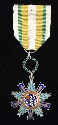 MEDAL OF THE BRIGHT LIGHT GRADE A 2ND CLASS INSCRIBED 6481