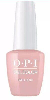 """OPI GEL COLOR SOLUBLE Soak-Off Gel Polish """"Sweet Heart #GCS96"""" 0.5 oz 8145"""