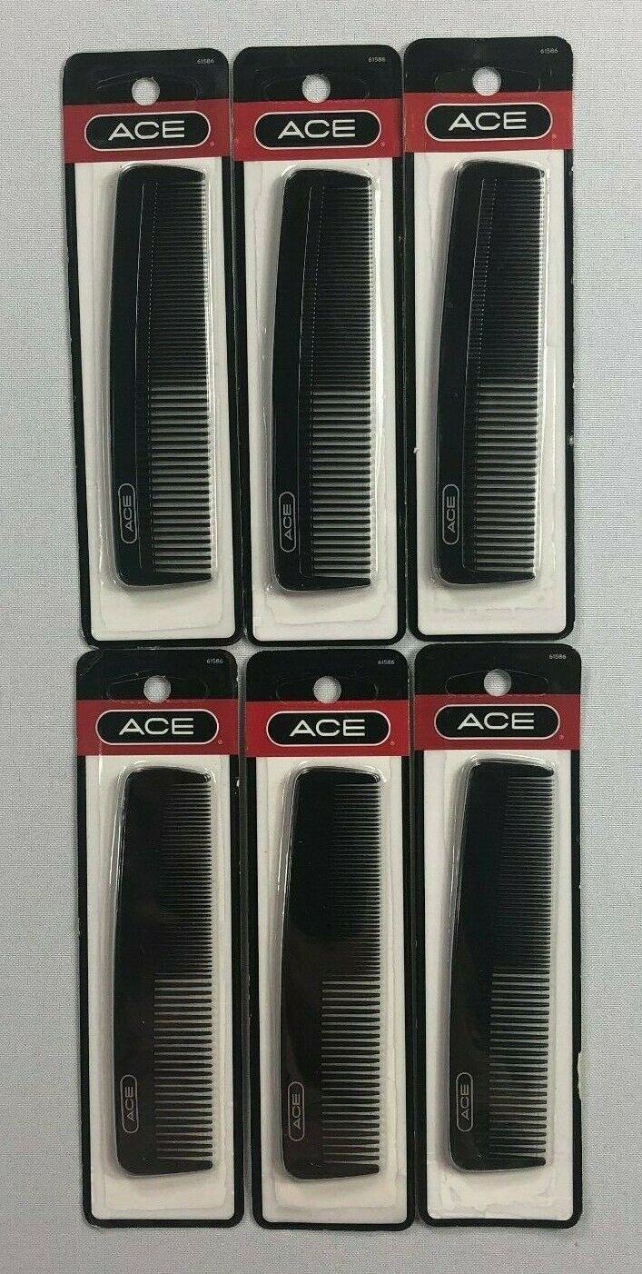 Ace Gd61586 Classic Men's Pocket Comb Sold Per 3 Pieces