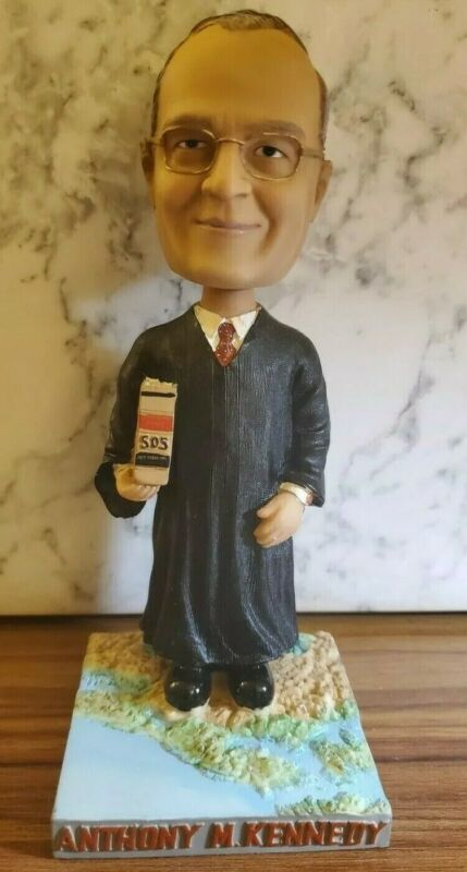 Green Bag Bobblehead Supreme Court Justice Anthony Kennedy (still in box)