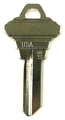 50 New Schlage SC1 1145 5 Cut Key Blank Blanks Various Commercial Locks