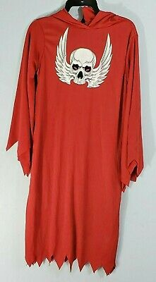 Rubies Boys Costume sz 4-6 *** Red Horror Robe