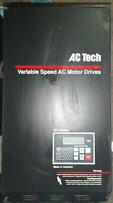 Ac Tech Variable Speed Ac Motor Drive 50 Hp Qc Series Q34050b Used 10